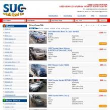 SUC Used Cars 様 - 大阪のPHP/MySQLによるWEBシステム・CMS開発 ウェブシステムズ株式会社
